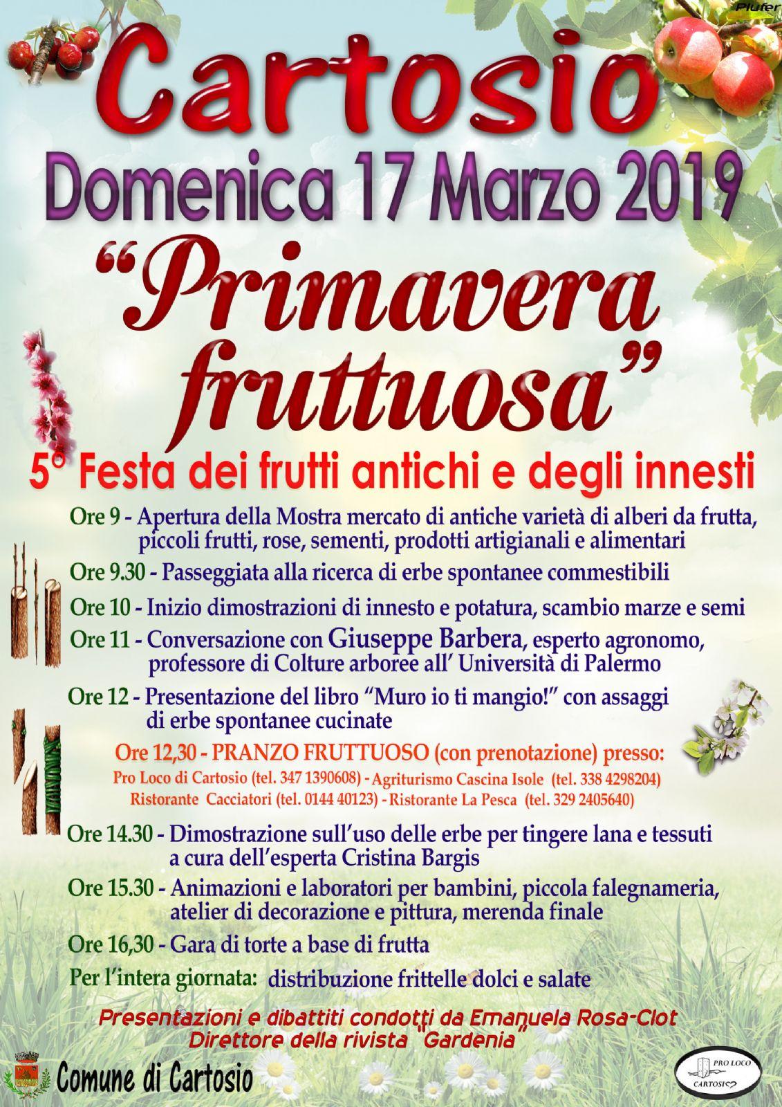 Calendario Innesti Pdf.Primavera Fruttuosa Comune Di Cartosio